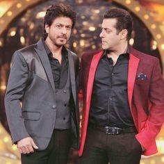 Salu with SRK