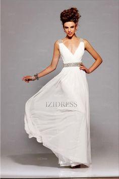 Amazing A-line V-neck Floor-length Chiffon Evening Dresses. teaghlaigh hq ·  Gowns 9e239dc82498