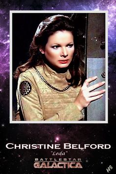 Leda (Christine Belford) - Battlestar Galactica (Episode The Gun on Ice Planet Zero, Part 1 (First Aired October Sci Fi Tv Series, Sci Fi Tv Shows, Star Trek Enterprise, Star Trek Voyager, Marvel Universe, Battlestar Galactica Cast, Kampfstern Galactica, Timeless Series, Movies