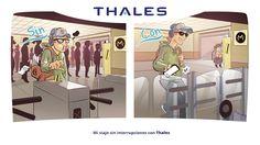 Mi viaje sin interrupciones con Thales.