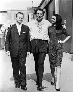 Vincent Price, Barbara Steele. Pit and the Pendulum, 1961.