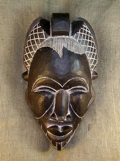african mask | African Masks - Tikar Mask 31 - Front - Click for a more detailed view ...