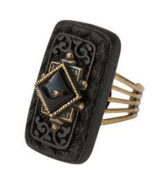 Jan Michaels Coffer Ring RG2419BOC coffer ring