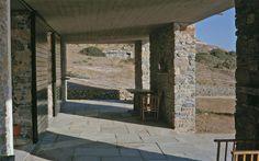 Aris Konstantinidis (1913-1993). Case di pietra, Grecia, 1962-1978