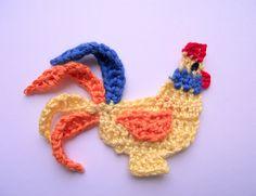 Coq au crochet application