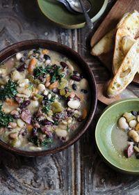 ham & beans, ham & beans, soup