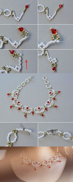 Like this beaded bib necklace?