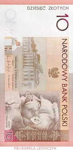 "The ""independence"" banknote  The 90th anniversary of regaining independence by Poland was commemorated by Narodowy Bank Polski with the issue of a collector banknote with the face value of PLN 10. This was the second Polish collector note issued by the NBP"