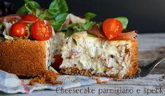 Cheesecake parmigiano e speck