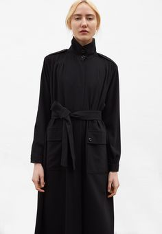 Shop Rodebjer's Coat Odessa in black at the official Rodebjer online shop. Discover all the details, product information and how to style it. Kappa, Raincoat, Female, Jackets, Outfits, Shopping, Black, Style, Fashion