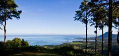 Da Chamarel la vista sulla laguna blu, indaco, azzurra di Mauritius si veste di verde smeraldo...
