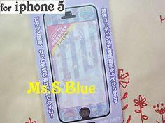 kiki lala little twin stars front screen skin sticker protector iPhone 5/5S -A
