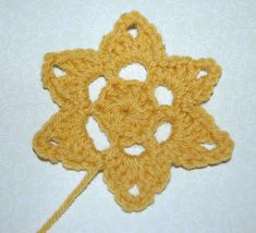 Crochet Flower or Star Pattern