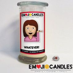 Whatever! Emoji Jewelry Candles | jewelrycandle