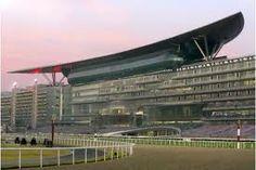 Meydan Racecourse grandstand in Dubai