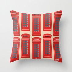 London Decorative Pillow