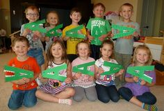 Sweet Smiles Preschool: Alligators! #mgtblogger
