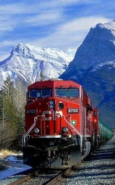 (19) Twitter By Train, Train Tracks, Train Rides, U Bahn Station, Train Station, Locomotive, British Columbia, Diesel, Canadian Pacific Railway