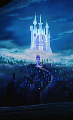 Cinderella, the castle