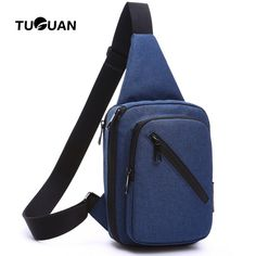 43e01532d8 2017 Men Messenger Bags leisure small Chest Pack for phone Youth fashion Men s  Casual Travel Crossbody bag zipper Small Belt Bag-in Crossbody Bags from ...