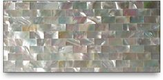 Mother of Pearl in the backsplash