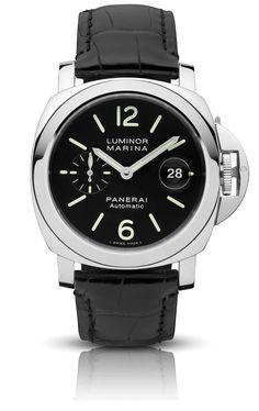 Luminor Marina Automatic Acciaio - 44mm PAM00104 - Collection Luminor - Officine Panerai Watches