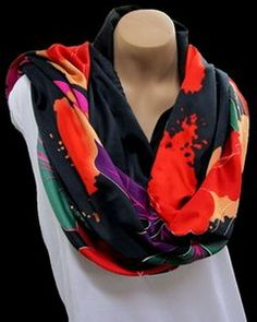 "Printed Charisma Poly Scarf (35""X35""), Price/piece"