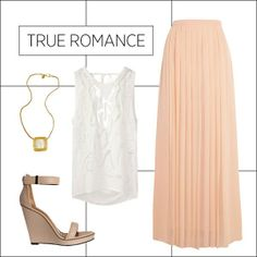 How to Wear Maxi Skirts: True Romance #Classic design.#Casually Cool!!!#