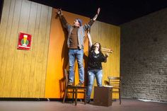 Ben and Heather. Almost, Maine 2015 Theatre, Maine, The Past, Theater