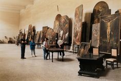 "artpictural: ""Thomas Struth the Art Restorers at San Lorenzo Maggiore, Naples, Italy. """