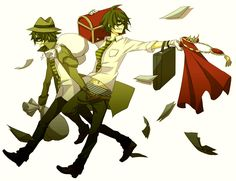 Happy Tree Friends Anime Lifty and Shifty