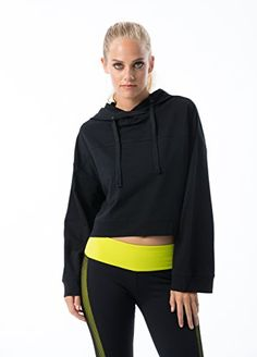 vivilish Women Super Soft Crop Hoodie - Designed in Los Angeles (Medium, Black) Tennis Skirts, Tennis Dress, Tennis Clothes, Cropped Hoodie, Hoodie Jacket, Sweaters For Women, Women's Sweaters, Fashion Outfits, Women's Fashion