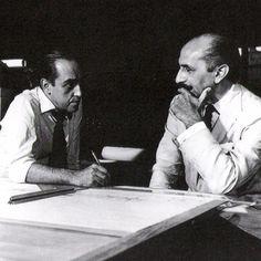 Oscar Niemeyer e Lucio Costa: gênios