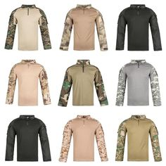 Men Combat Shirt Tactical Special Forces Camouflage Clothing Outdoor Training Military Uniform for Adult Army Tops Everything Popular, Combat Shirt, Special Forces, Camouflage Clothing, Military Jacket, Army, Wattpad, Book, Vehicles