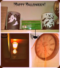 Simple Halloween Decor.
