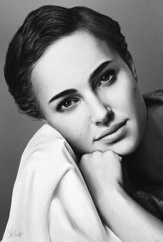 Natalie Portman por el sargento-Pequeño