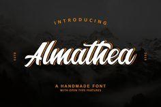 Almathea Script Font @creativework247
