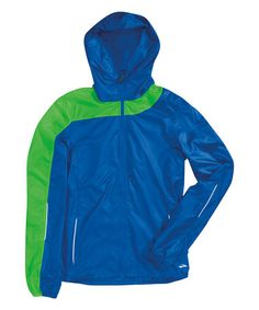 This Electric & Lime LSD III Lite Jacket by Brooks is perfect! #zulilyfinds