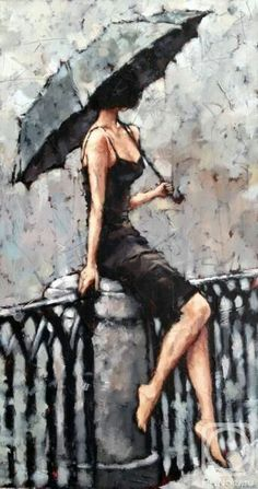 Stunning drawings that can be confused with photos. - Kunst - Stunning drawings that can be confused with photos. Art Sketches, Art Drawings, Random Drawings, Umbrella Art, Beautiful Paintings, Female Art, Female Portrait, Art Girl, Painting & Drawing