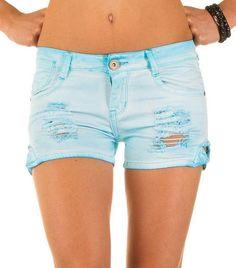 Dames korte broek scheuren blauw Best Emilie http://www.ladymode.nl/dameskleding/been-mode/korte-broeken---hotpants/dames-korte-broek-scheuren-blauw Dames korte broek met scheuren in het blauw voor de aanbiedingsprijs van €17,99 voor €13,50 in maat 34 t/m 42 in 4 kleuren ook andere looks.