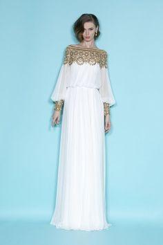 Gorgeous Silk Vintage Evening Gown and Wedding Dress par Whitesrose, $389.00