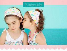DIY: Cómo elaborar diademas de tela para niñas