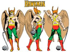 Hawkman by José Luis García-López from the 1982 DC Comics Style Guide