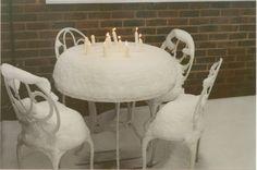 snow cake!