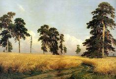 Шишкин Иван Иванович Рожь (1878)
