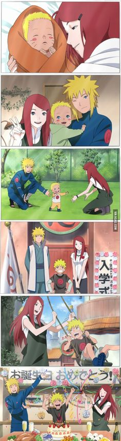 If Naruto grew up with his parents