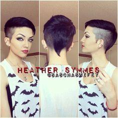 short hairstyle undercut woman - Iskanje Google