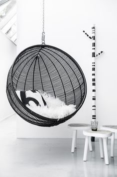 An ode to the hanging chair | 79 Ideas#.VBlTD3JxmHt#.VBlTD3JxmHt