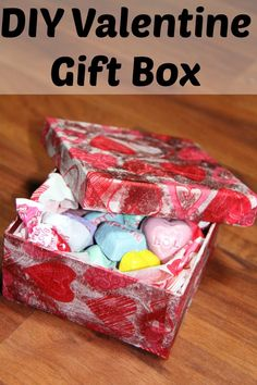 Valentine's Day Craft Box- Great for gifts or decor