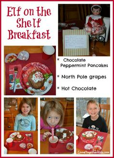 Come Together Kids: Elf on the Shelf Breakfast 2012